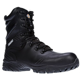 Dickies Herren Safety Stiefel Urban Hi (7 UK) (Schwarz) -