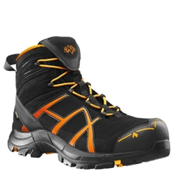 HAIX Herren Sicherheitsschuhe Black Eagle Safety 40 Mid black/orange orange, UK 8.0 / EU 42 - 1