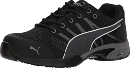 PUMA Safety Womens Celerity Knit SD ST (9 B(M) US, Black) -